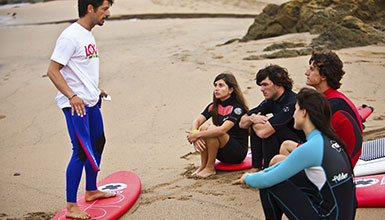 Surf schools in the Basque Country